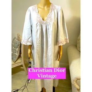 Christian Dior Vintage Night Gown Sz Lg